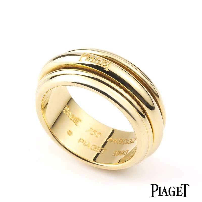 Piaget 18k Yellow Gold Possession Ring
